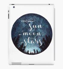 you are my sun moon stars iPad Case/Skin