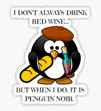 The Worlds Most Famous Penguin  Sticker