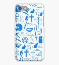 Buffy Symbology - Blue iPhone Case/Skin