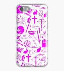 Buffy Symbology - Pink iPhone Case/Skin
