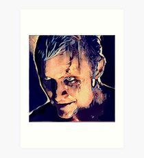 Roy Batty ~ Dotted Art Print