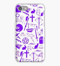 Buffy Symbology - Purple iPhone Case/Skin