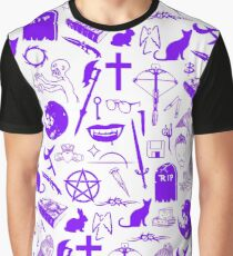 Buffy Symbology - Purple Graphic T-Shirt