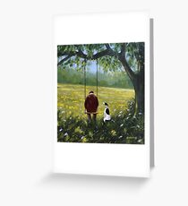 Contemplation.. Greeting Card