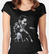 Elvis Presley - The King Is Back Women's Fitted Scoop T-Shirt