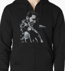 Elvis Presley - The King Is Back Zipped Hoodie