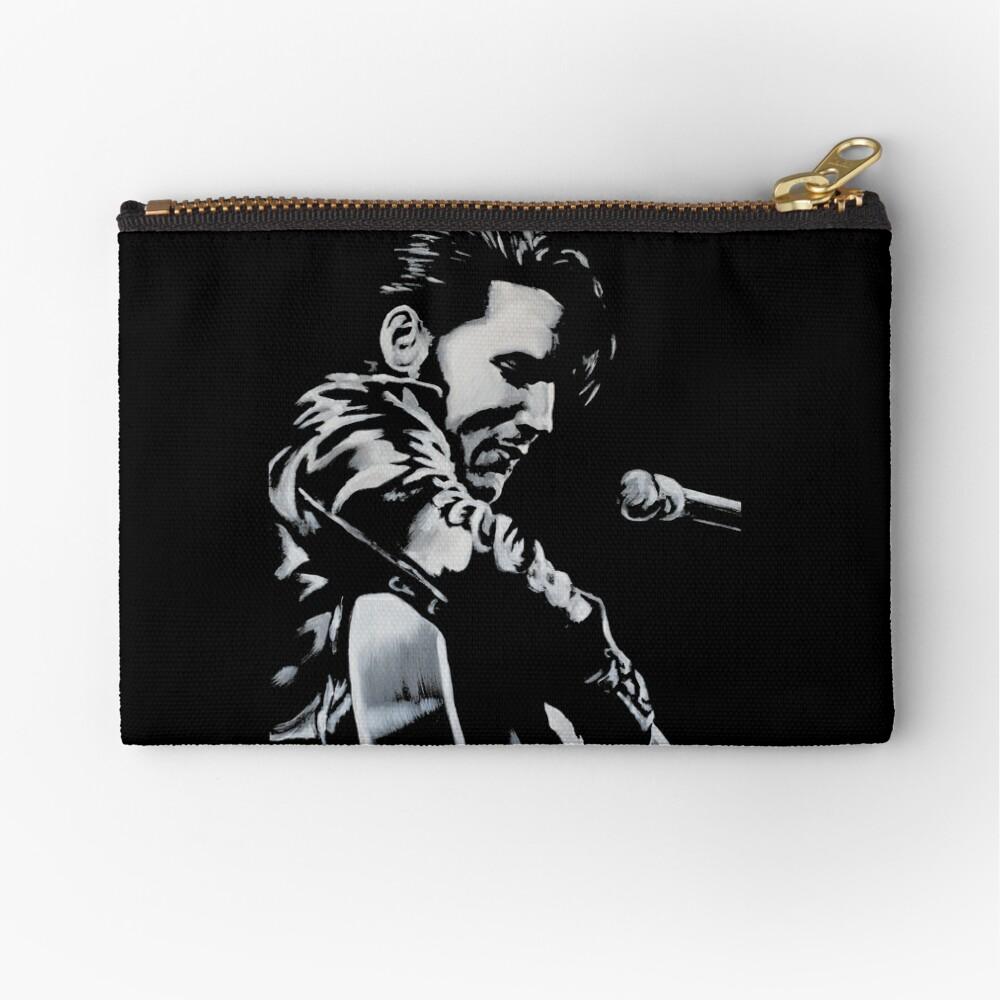 Elvis Presley - The King Is Back Zipper Pouch
