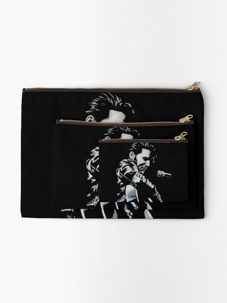 Alternate view of Elvis Presley - The King Is Back Zipper Pouch