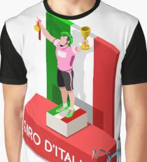 Giro Italia Cycling Race Sport Graphic T-Shirt