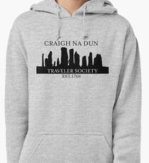 Craigh Na Dun Traveler's Society Transparent Pullover Hoodie