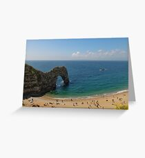 Durdle Door - Dorset Landscape Greeting Card