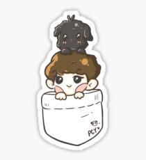 EXO Chanyeol & Toben in Pocket Sticker