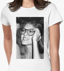 Carrie Fisher Women's Fitted T-Shirt