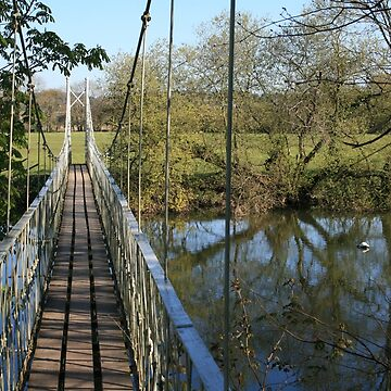 Stour Valley Way: Canford Magna Bridge by RedHillDigital