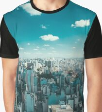 Sao Paulo City Skyline  Graphic T-Shirt