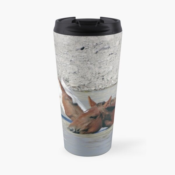 Five O'clock in Sand Wash Basin Travel Mug