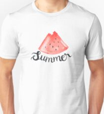 Summer and Watermelons Unisex T-Shirt