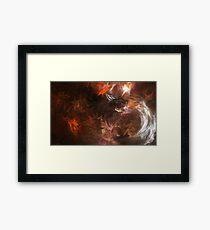 Galactic Paint Framed Print