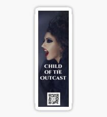 Child of the Outcast Bookmark Sticker