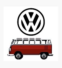 VW Bus Camper Photographic Print