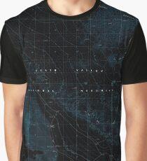 USGS TOPO Map California CA Stovepipe Wells NE 295322 1988 24000 geo Inverted Graphic T-Shirt