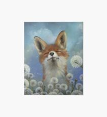 Dandelion fox Art Board