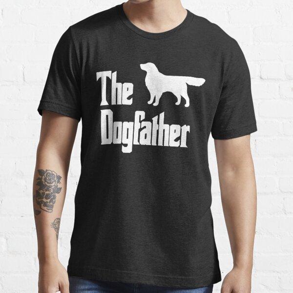 The Dogfather Golden Retriever Dog Essential T-Shirt