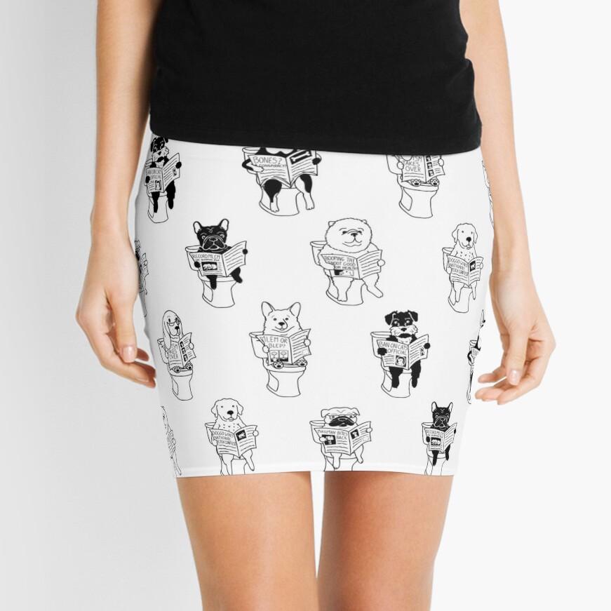 Morning Constitutional Mini Skirt