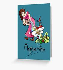 "Aquarius among the stars - series of T-shirts ""Polaris""  Greeting Card"