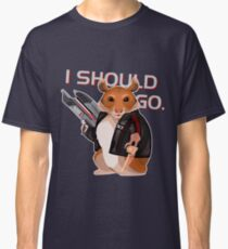 Space Hamster Mass Effect Classic T-Shirt