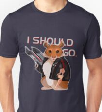 Space Hamster Mass Effect Unisex T-Shirt