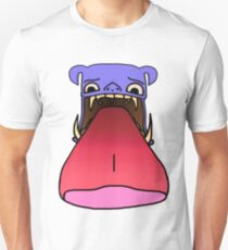 The purple monster with tongue Unisex T-Shirt