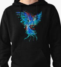 blue phoenix Pullover Hoodie