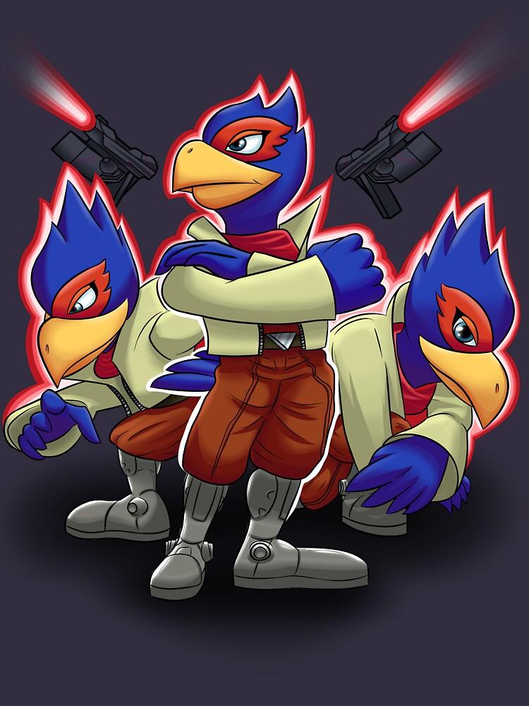 TShirtGifter presents: Falco Victory Pose T-Shirt | Unisex T-Shirt