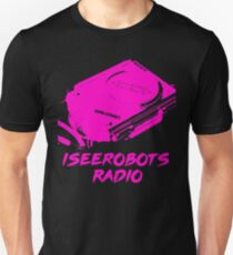 IseeRobots Radio Network T-Shirt. Dope Walkman!  T-Shirt