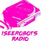 IseeRobots Radio Network T-Shirt. Dope Walkman!  by IseeRobots