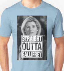 Straight Outta Gallifrey- Whittaker T-Shirt