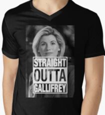 Straight Outta Gallifrey- Whittaker T-Shirt