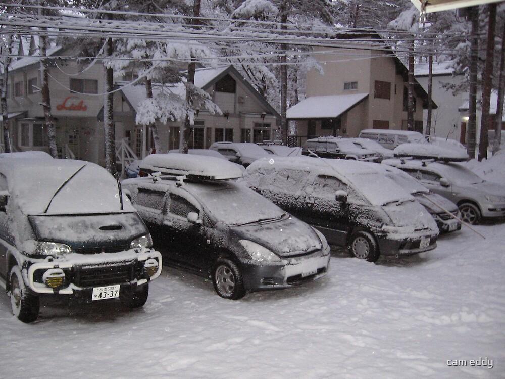 japan carpark by cam eddy