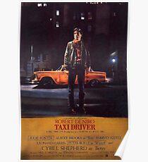 Taxi Driver- Retro Poster
