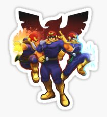 Show Me Your Moves, Captain Falcon!  Sticker