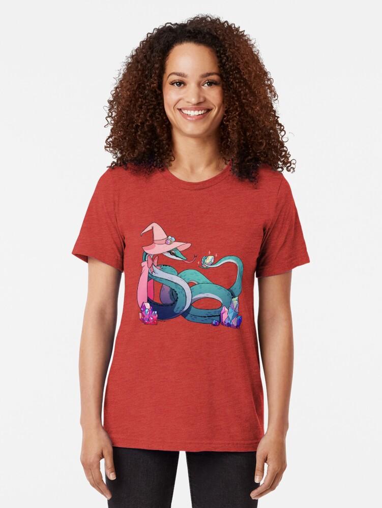 Alternative Ansicht von Pearl der blaue Baron's Racer Vintage T-Shirt