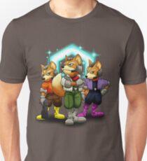 Fox Victory Pose T-Shirt  Unisex T-Shirt