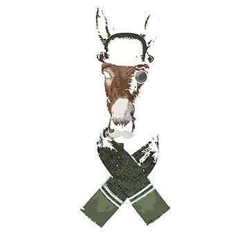 Fancy Donkeys Wear Asscots (Brown) by LiamNeesons
