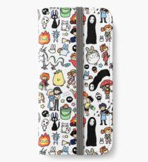 Kawaii Ghibli Doodle iPhone Wallet/Case/Skin