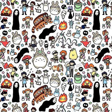 Kawaii Ghibli Doodle by KiraKiraDoodles