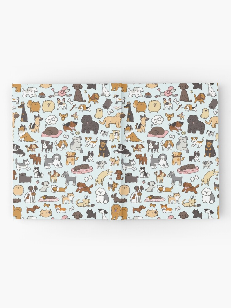 Alternate view of Doggy Doodle Hardcover Journal