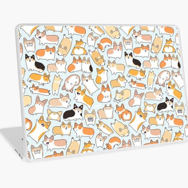 Corgilicious Corgi Doodle Laptop Skin