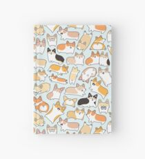 Corgilicious Corgi Doodle Hardcover Journal