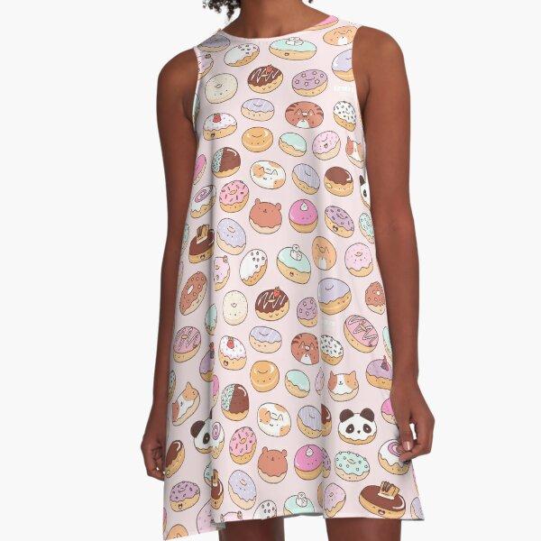 Mmm.. Donuts! A-Line Dress